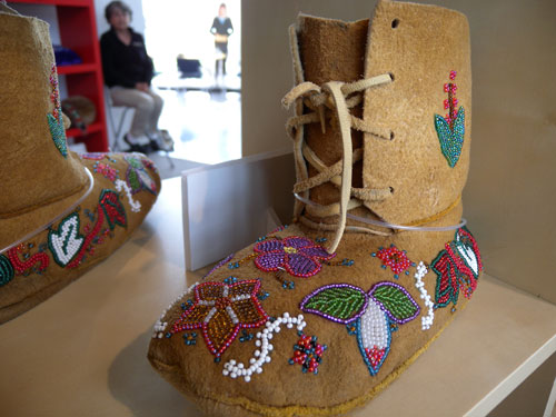 Young woman's dance boots. Artist Julia Morberg.